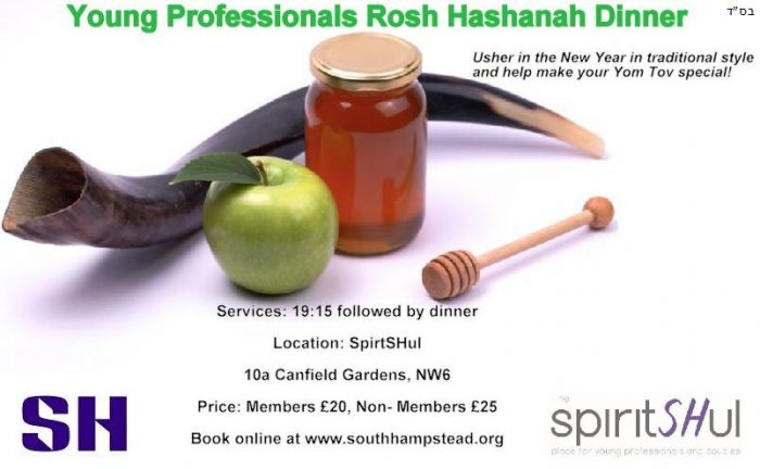 Young Professionals Rosh Hashanah Dinner