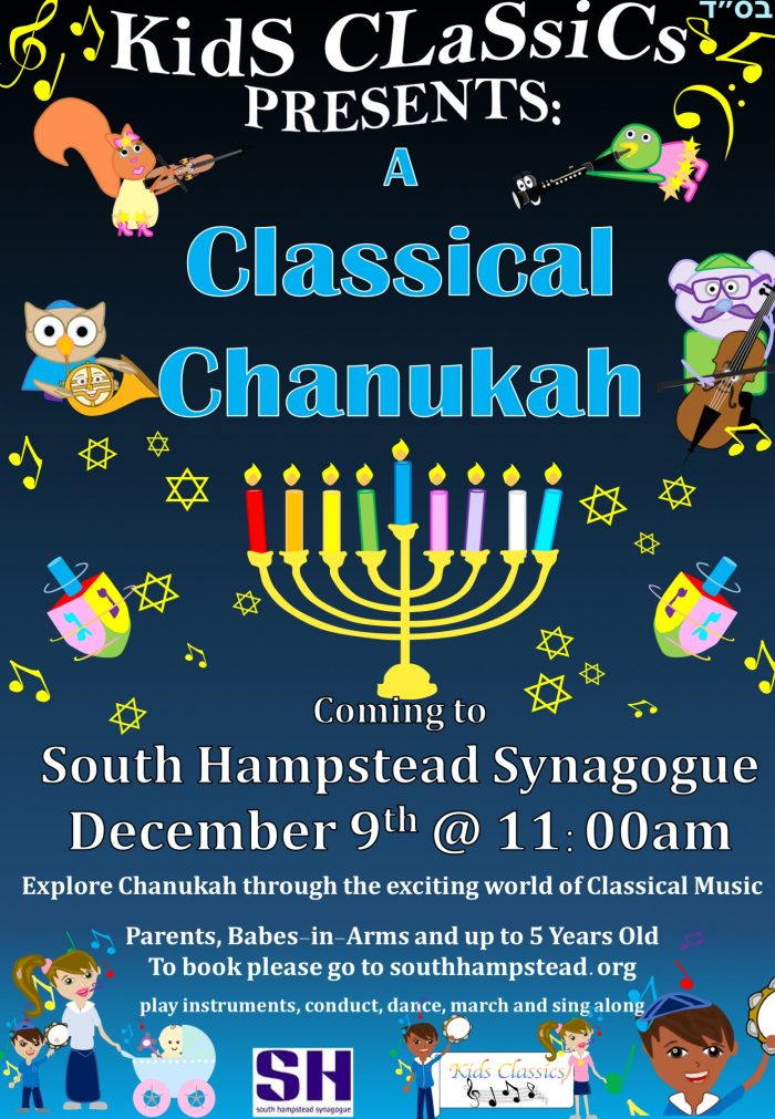 Classical Chanukah show for kids