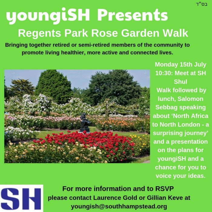 YoungiSH Presents Regents Park Rose Garden Walk