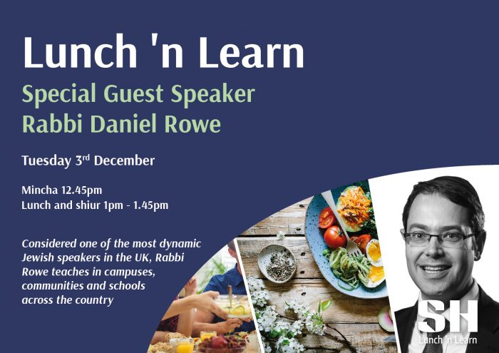 Lunch 'n Learn with Rabbi Daniel Rowe